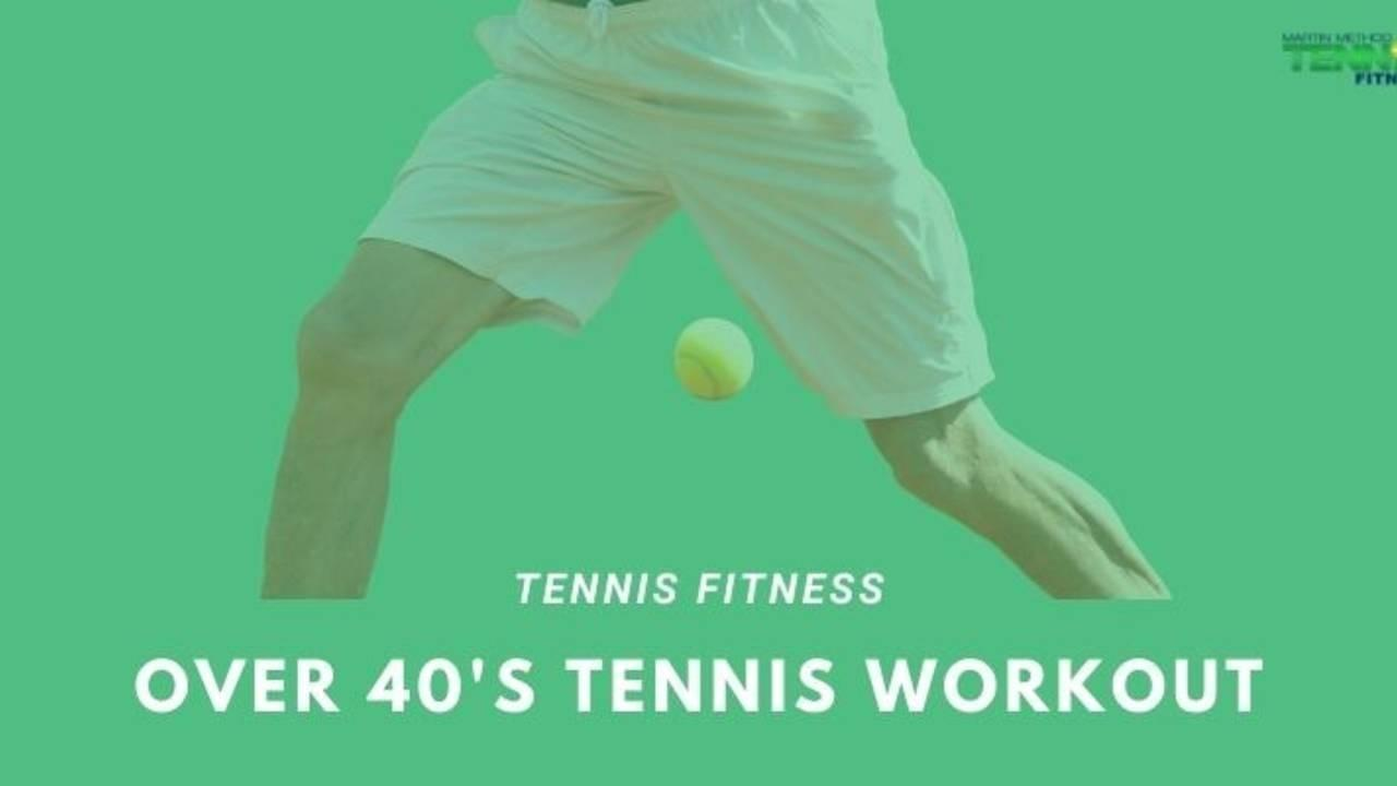 Over 40's Tennis Workout