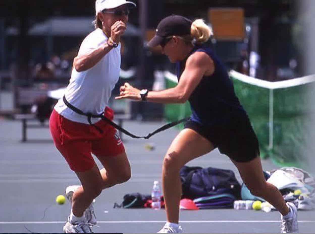 image Martina Navratilova and Giselle Martin