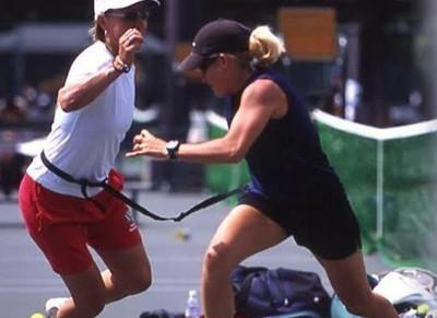 Image Martina Navratilova and Tennis Fitness