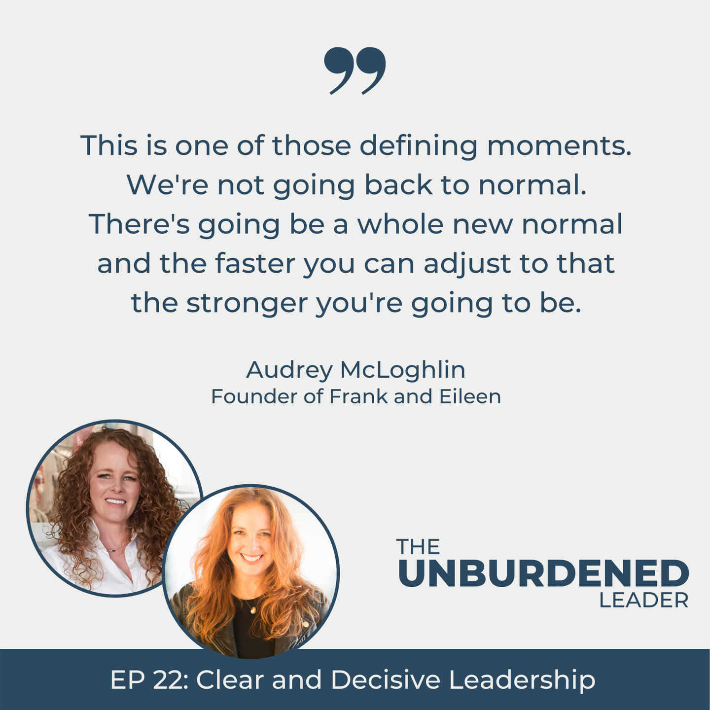 The Unburdened Leader Podcast with Rebecca Ching