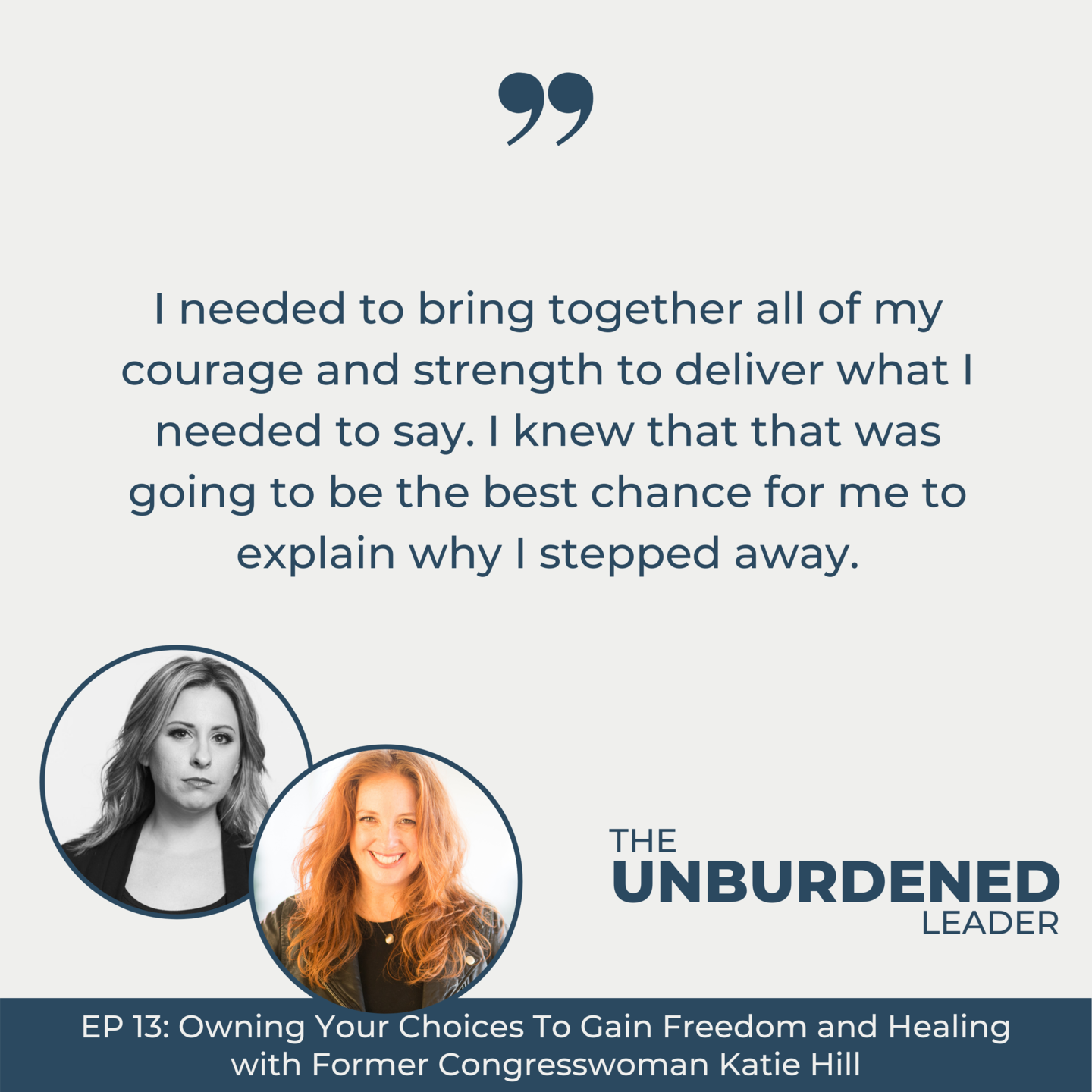 The Unburdened Leader Podcast