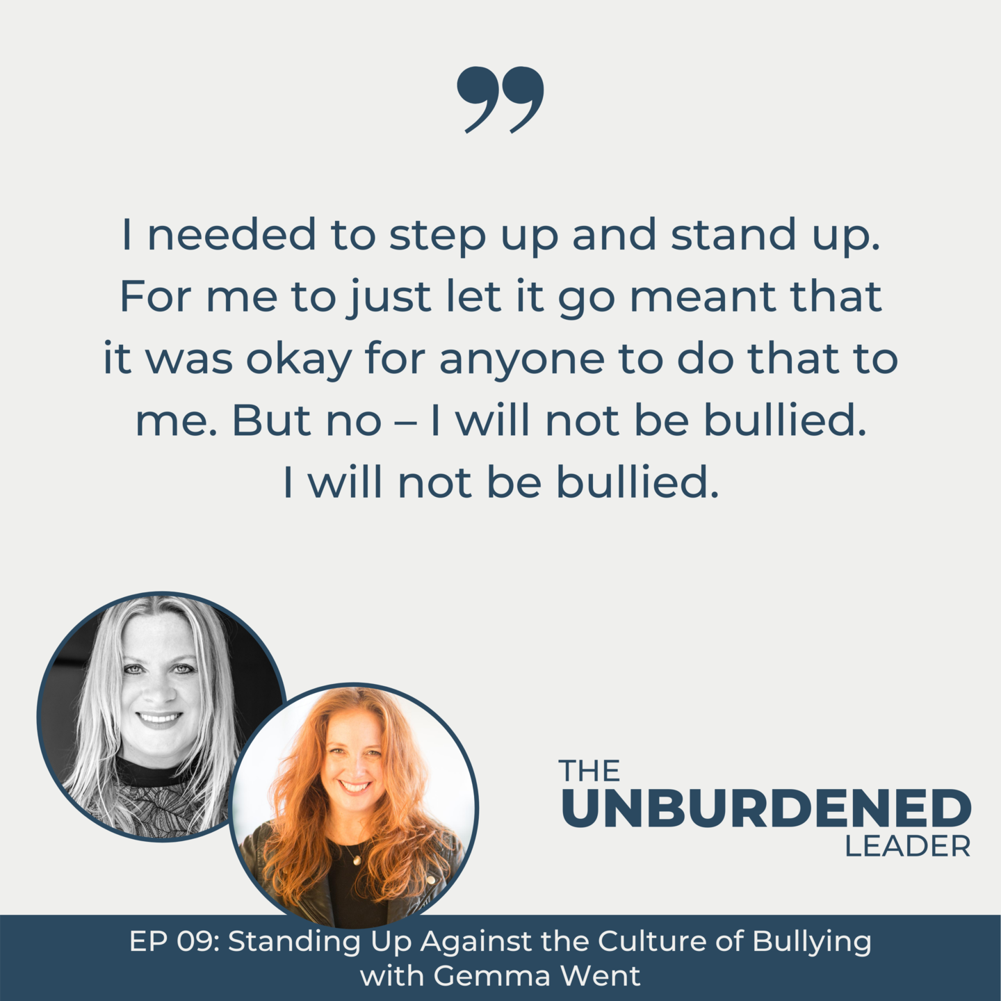 Gemma Went | The Unburdened Leader with Rebecca Ching