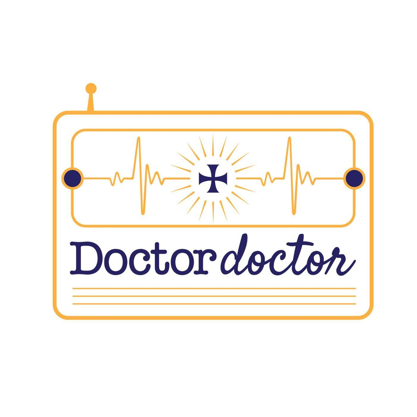 Doctor Doctor logo, psychology behind conspiracy theories