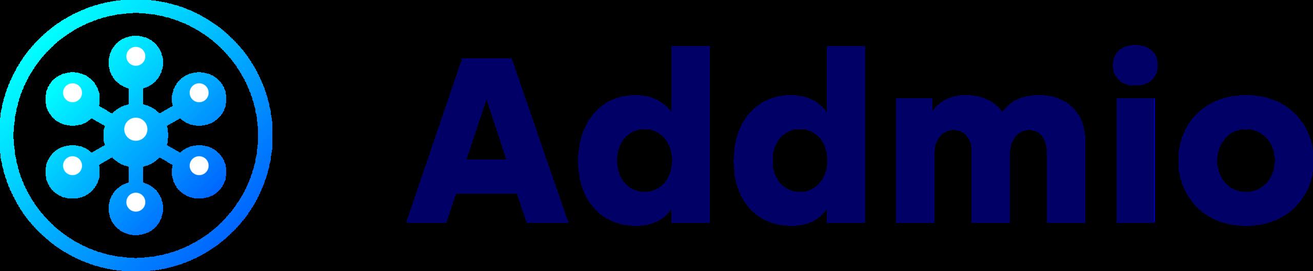 Addmio logo square blue