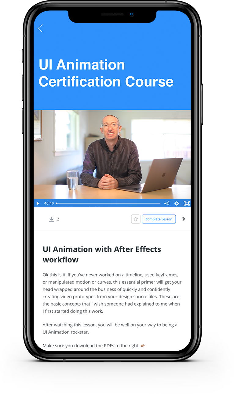 Ui Animation Certification Course