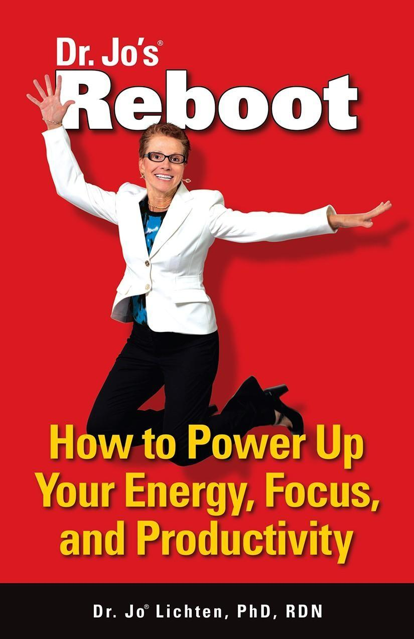 Reboot book - how to power up your energy, focus, and productivity