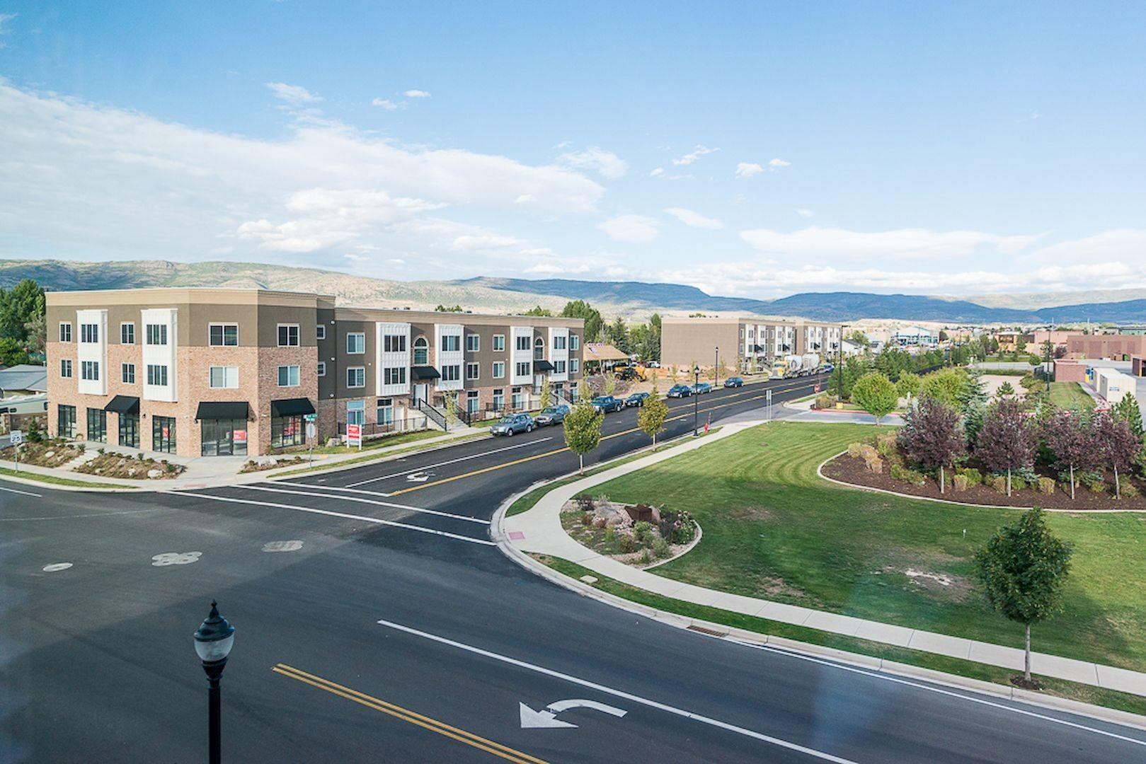 FIG's new fourplex development in Heber, Utah
