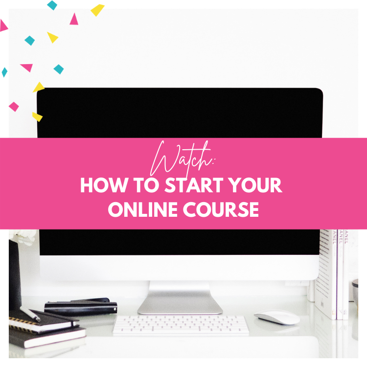 How to start online course