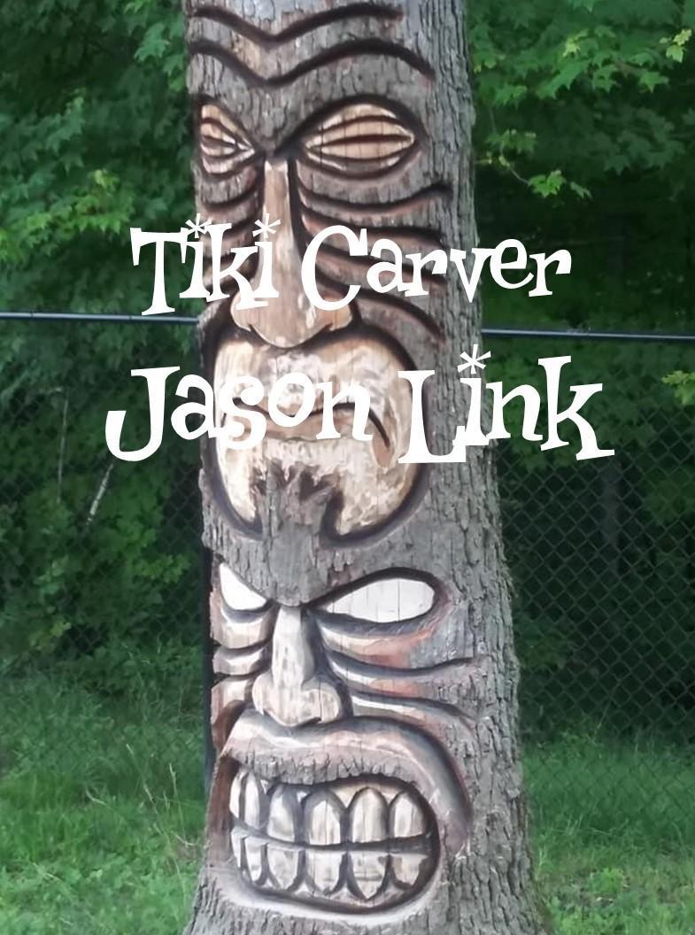 Tiki Carver Jason Link