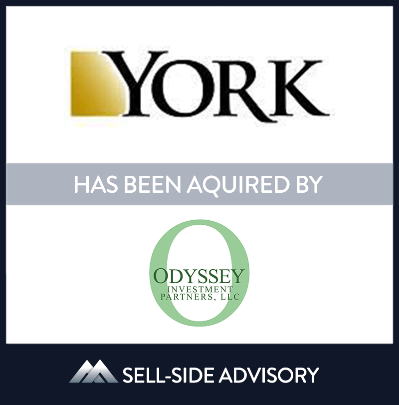York Insurance Services Group, a leading property and casualty thrid party administrator and program manager, was sold to Odyssey Invesment Partners and management.  MidCap advised York in the sale transaction. | York Insurance Services Group, Odyssey Investment Partners LLC, 1 Apr 2006, New Jersey, Insurance & Financial Services