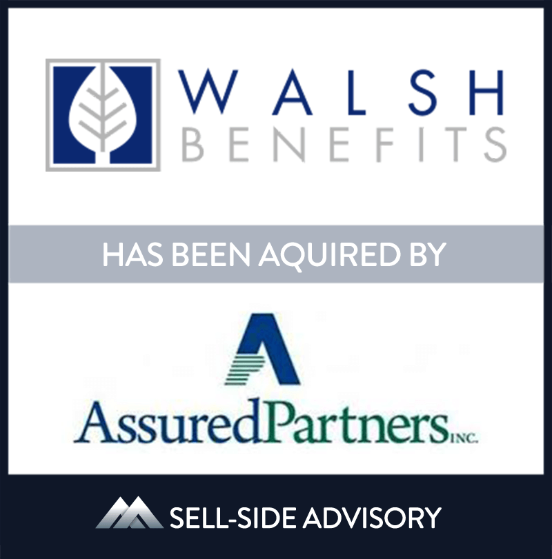 AssuredPartners, Inc. acquired Platinum Planning, Inc., dba Walsh Benefits. Walsh Benefits is a full service employee benefits broker specializing in group and voluntary benefit product offerings. Walsh Benefits operates in the New Jersey cities of Fair Haven and Cranford under the leadership of Paul Walsh, president and Maryellen Walsh, co-founder and vice president. MidCap served as advisor to Walsh Benefits. | Walsh Benefits , AssuredPartners, 26 Mar 2015, New Jersey, Insurance & Financial Services