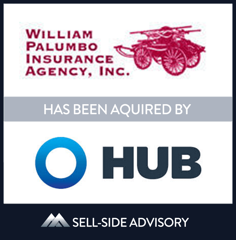 Hub International Limited, a leading global insurance brokerage,  through its subsidiary Hub International New England, acquired the assets of William Palumbo Insurance Agency (Palumbo), a Massachusetts-based insurance brokerage firm. Founded in 1932, Palumbo is a full service brokerage offering property and casualty, personal lines, employee benefits, life insurance and other financial services throughout Massachusetts and Rhode Island. The company operated out of six offices in Eastern and Central Massachusetts. MidCap served as advisor to Palumbo. | William Palumbo Insurance Agency,	Hub International, 1 Sep 2011, Massachusetts, Insurance & Financial Services