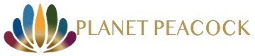 Planet Peacock Club Logo
