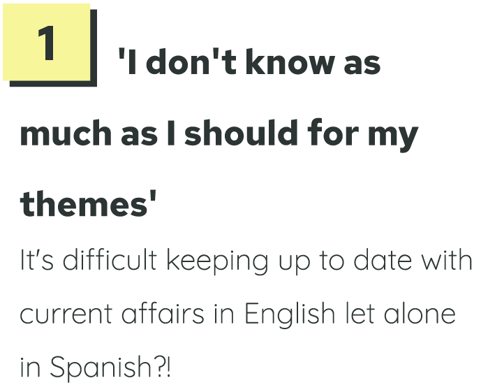 Spanish GCSE exam revision