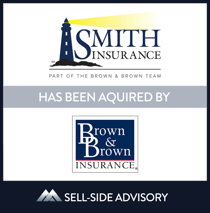 Brown & Brown of Connecticut Inc. acquired substantially all of the assets of Smith Insurance, an independent agency based in Niantic, CT. Smith Insurance has provided personal lines and commercial insurance services in Connecticut and Rhode Island for over 75 years. MidCap served as advisor to Smith Insurance.| Smith Insurance, Brown & Brown Insurance, 11 Dec 2015, Connecticut, Insurance & Financial Services