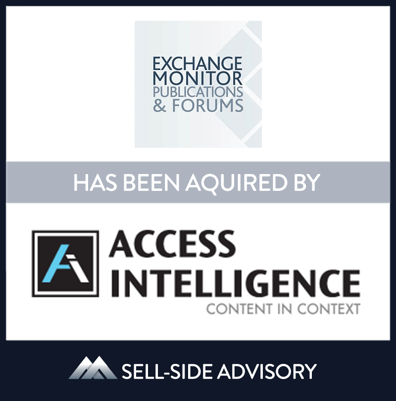 | Exchange Monitor Publications, Access Intelligence LLC, 1 Mar 2015, Virginia,	Manufacturing & Business Services