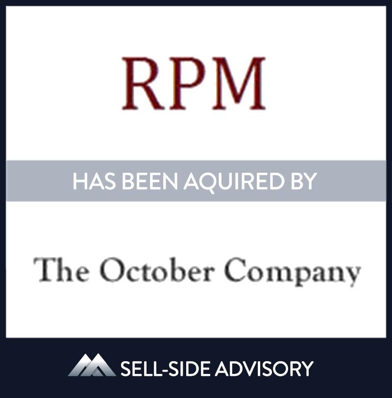 | RPM, The October Company, 1 Jan 2002, Massachusetts, Manufacturing & Business Services