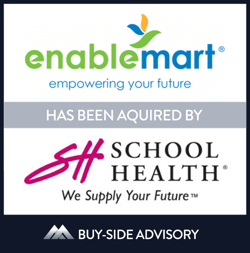 School Health Corporation (SHC), a leading provider of medical supplies and equipment to school nurses and other specialty healthcare professionals, acquired EnableMart, a provider of assistive technology to the special needs community. The transaction will enhance the EnableMart brand and grow the product offering customers access nationally. MidCap represented SHC and arranged the transaction. | EnableMart, School Health Corporation, 12 Jan 2012, Illinois, Education
