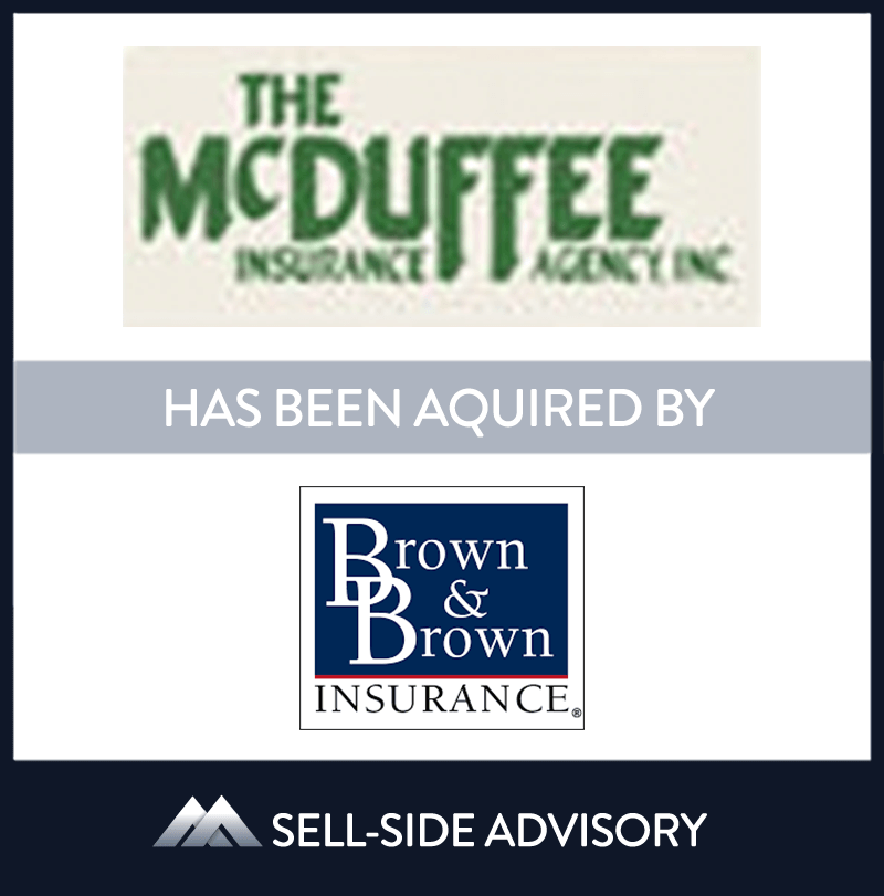 | The McDuffee Insurance Agency, Brown & Brown Insurance, 1 Jan 2004, Massachusetts, Insurance & Financial Services