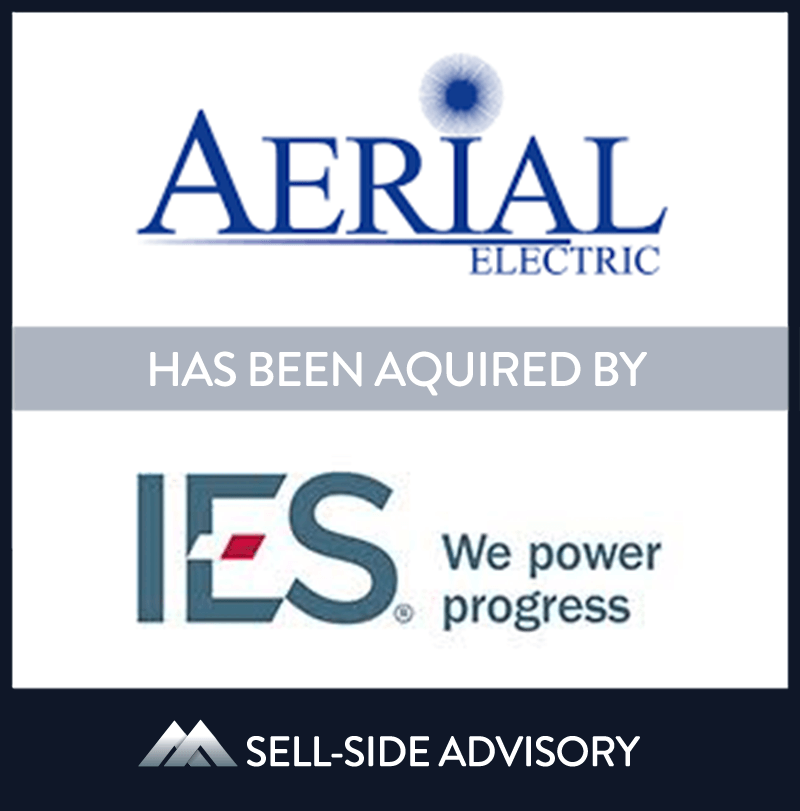 IES Holdings, Inc. has acquired all of the equity interests in Aerial Lighting & Electric, Inc., a Naugatuck, CT-based electrical contractor specializing in the design and installation of electrical systems for multi-family developments, with revenues of approximately $24 million in calendar year 2019. Aerial will become part of IES's Residential segment and continue to operate under the Aerial name. | Aerial Electric, IES Holdings, 18 Feb 2020, Connecticut, Manufacturing & Business Services