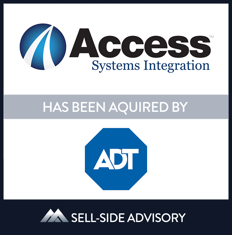 | Access Systems Integration, ADT, 9 Aug 2018, Florida,	Manufacturing & Business Services
