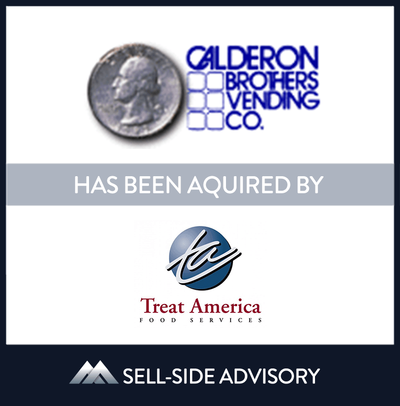 | Calderon Brothers Vending Co., Treat America, 1 Jul 2009, Indiana, Manufacturing & Business Services