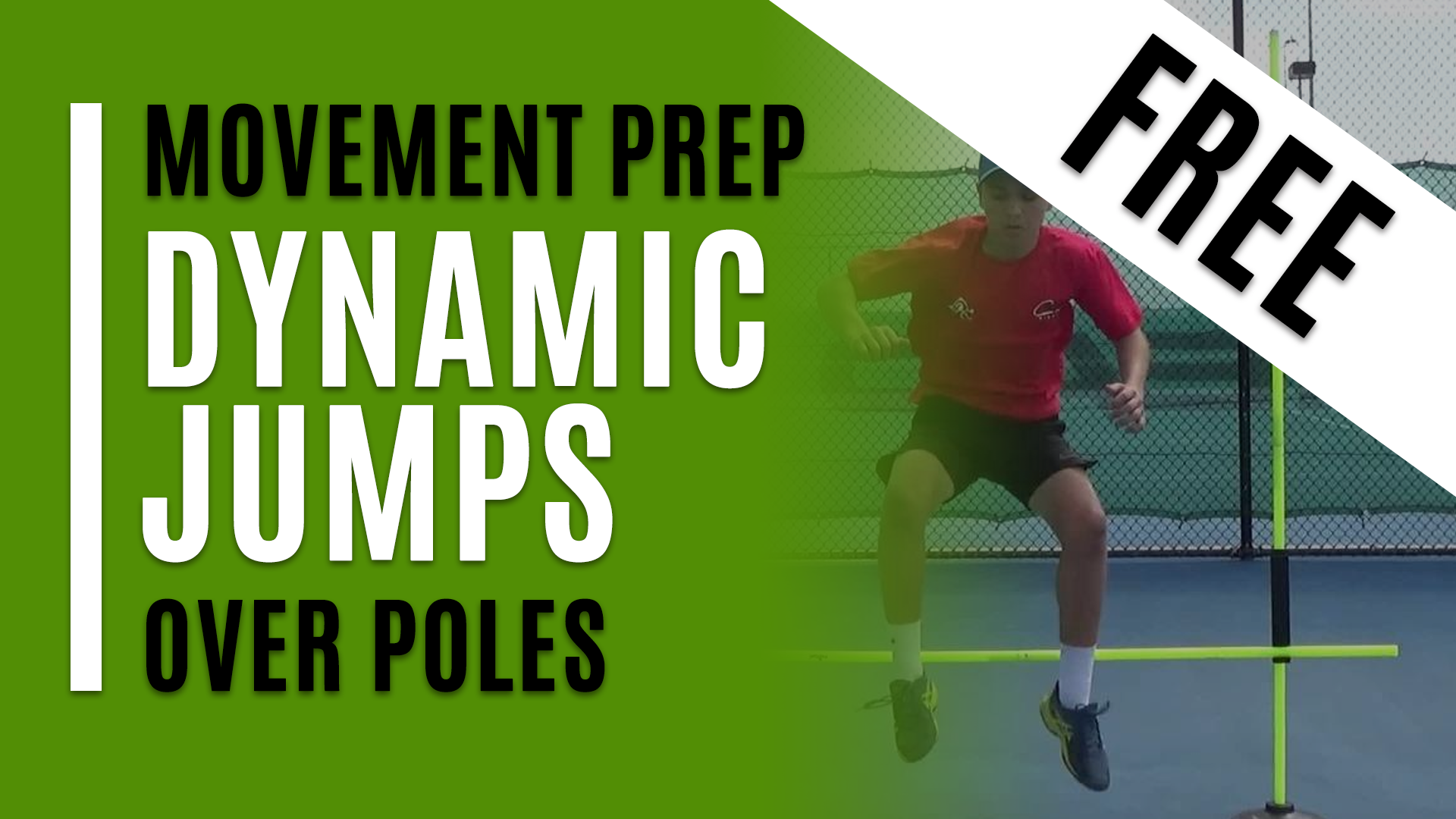 Dynamic Jumps - Over Poles