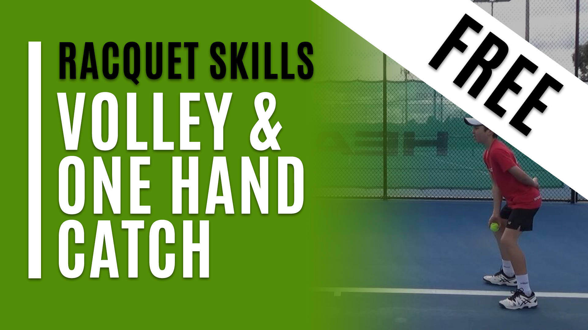 Volley & One Hand Catch
