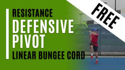 Defensive Pivot - Linear Bungee Cord