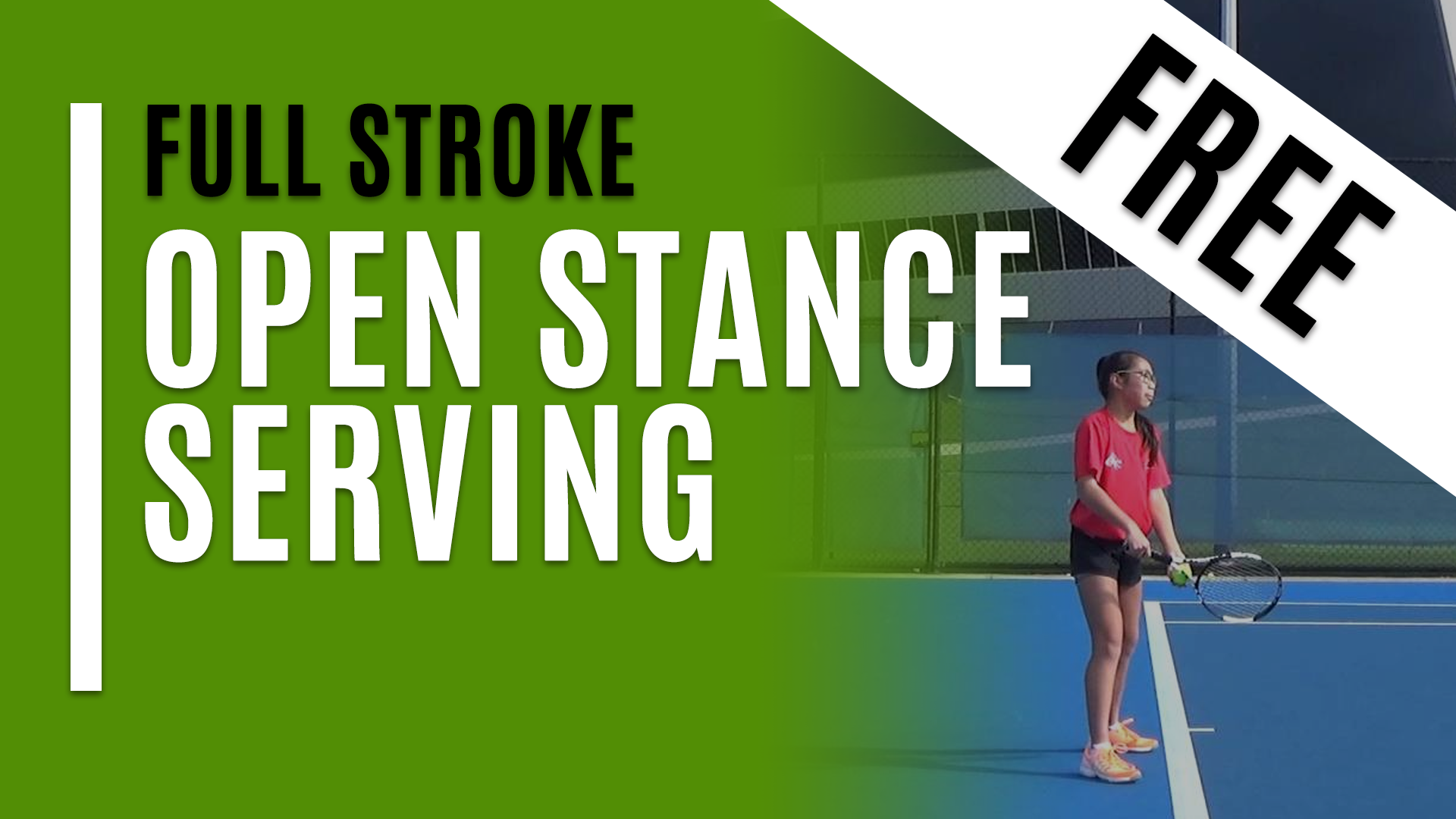 Open Stance Serving