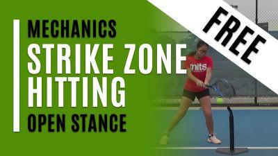 Strike Zone Hitting - Open Stance