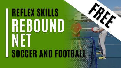 Rebound Net - Soccer and Football