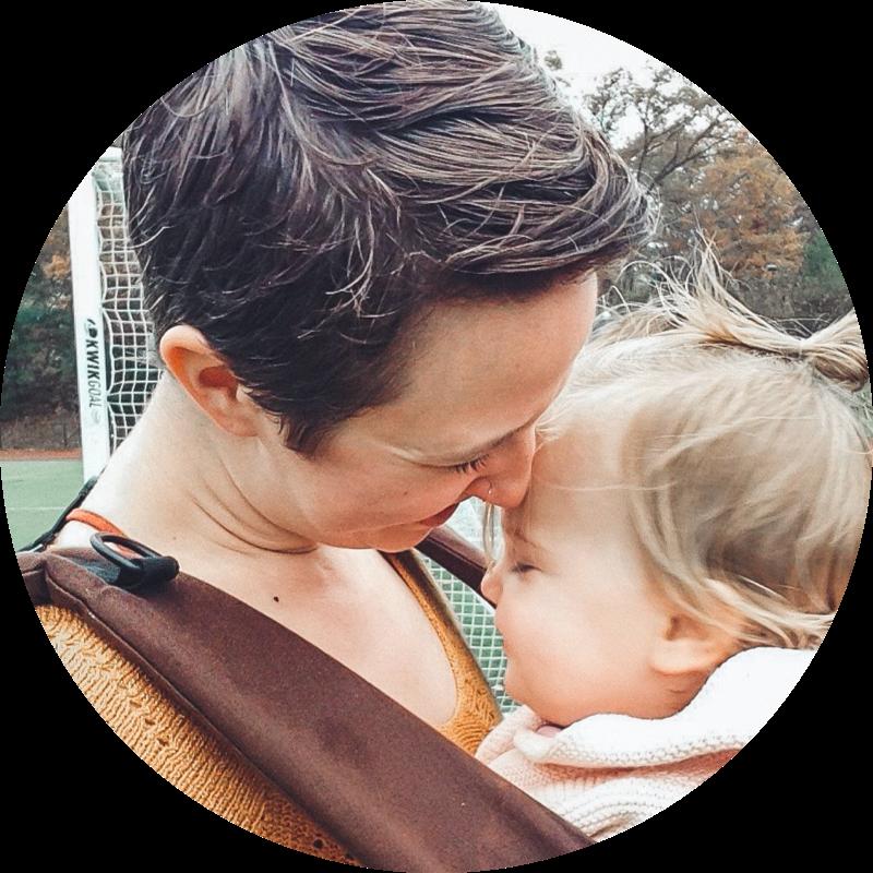 Alyssa with baby