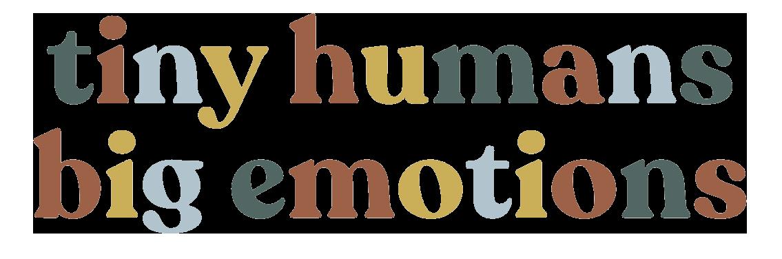 Tiny Humans Big Emotions Logo