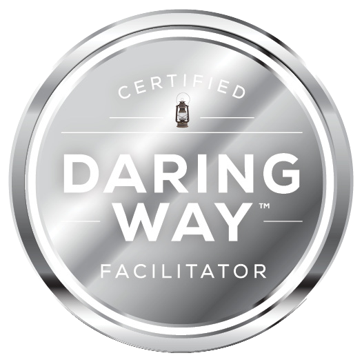 Certified Daring Way Facilitator (logo)