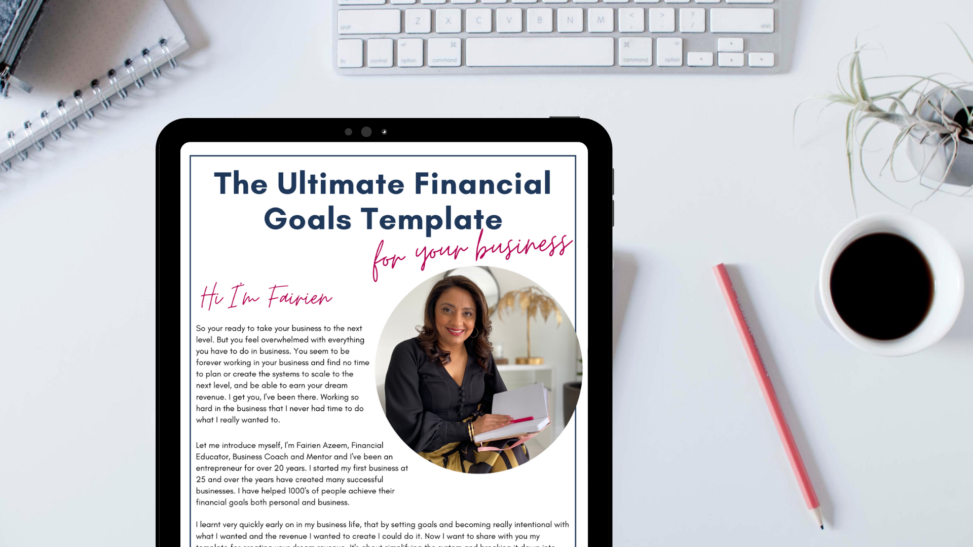 Download The Ultimate Financial Goals Template for your Business