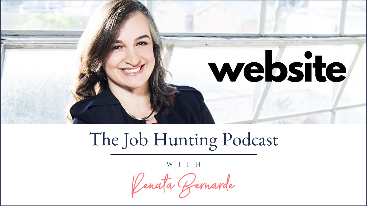 The Job Hunting Podcast Website