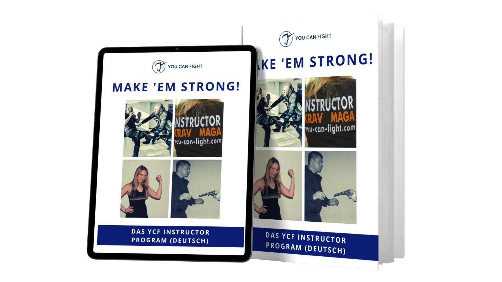 YCF Krav Maga Instructor Ausbildung Selbstverteidigungstrainer