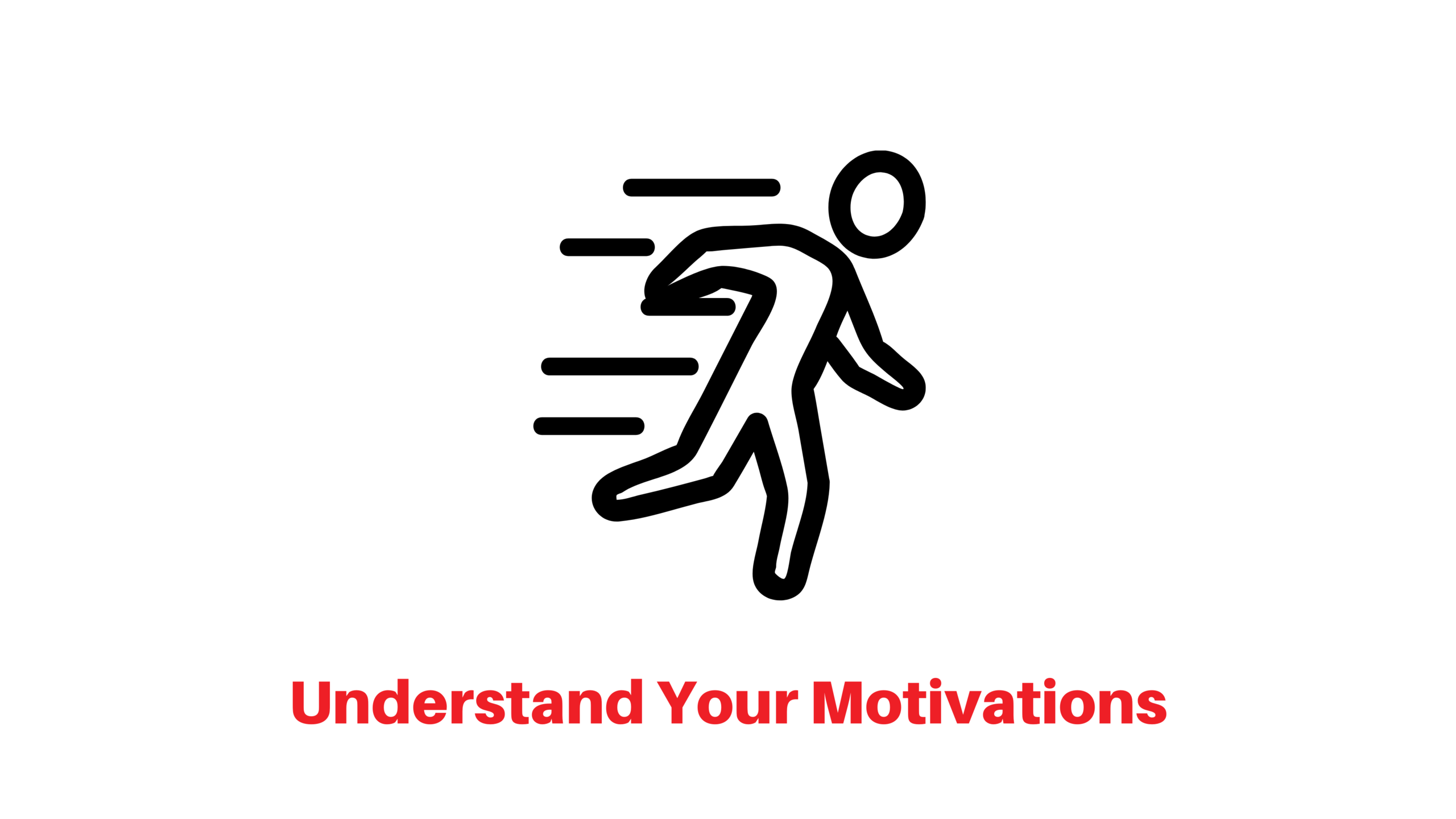 Understand your motivations icon