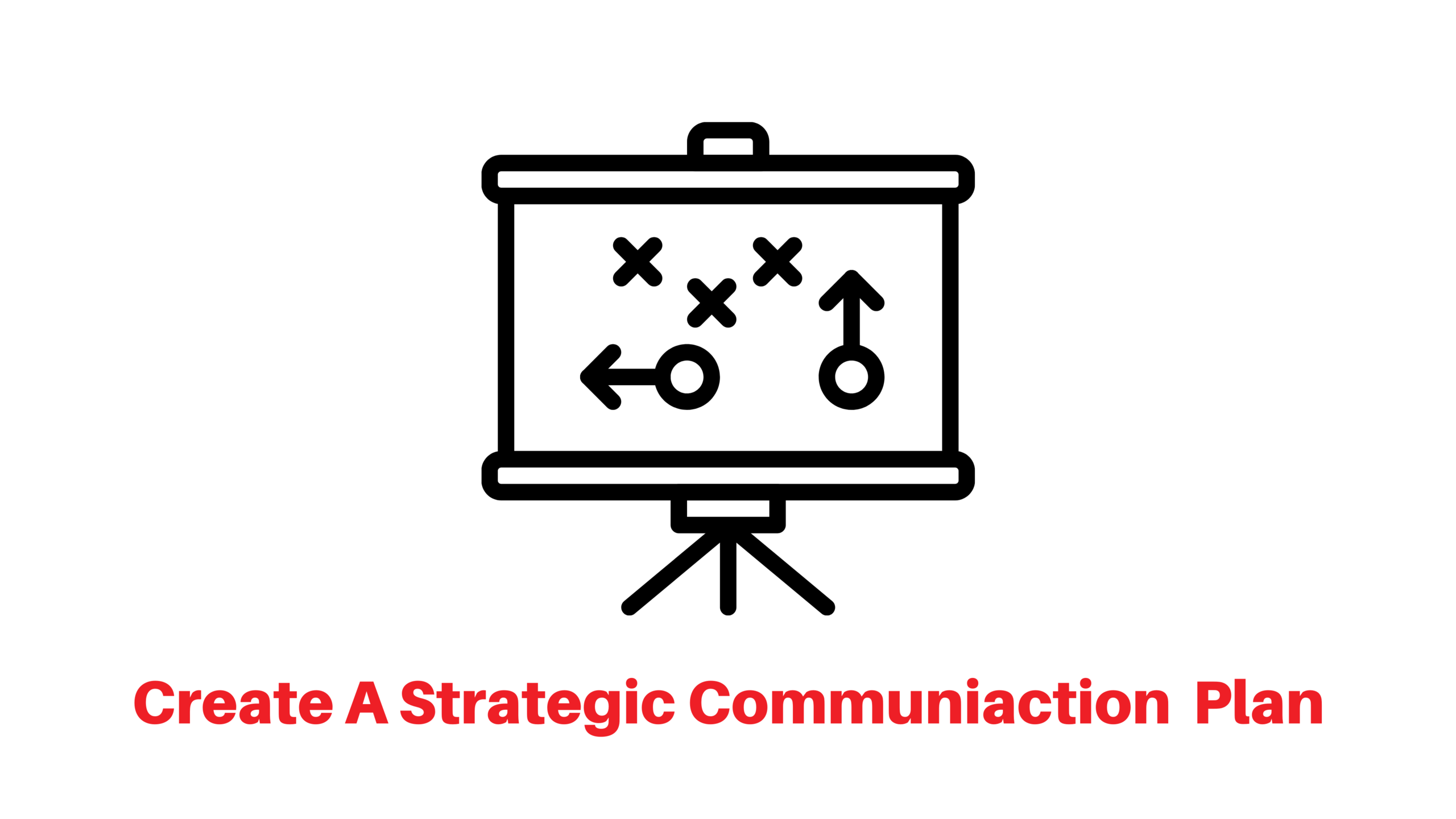 Create a strategic communication plan
