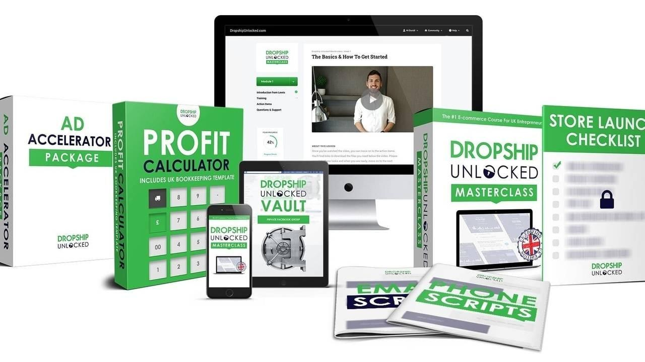 Dropship Unlocked Masterclass Training Course Information