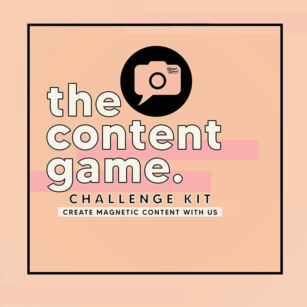 The Content Game - Brand School by Two Bishes