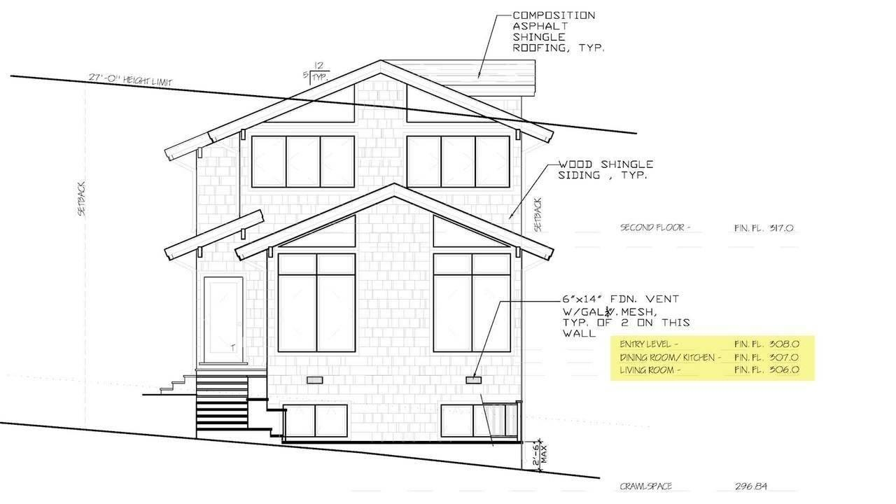 How to read elevations and sections