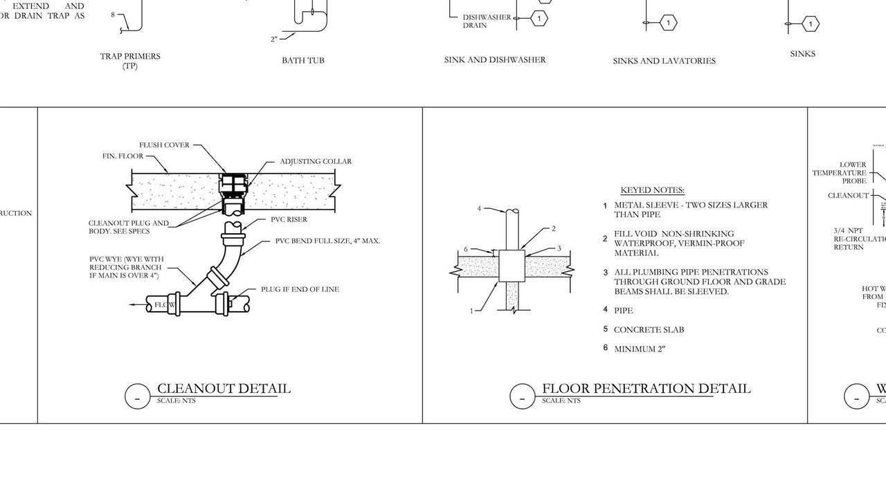 How to read MEP Drawings and Plans