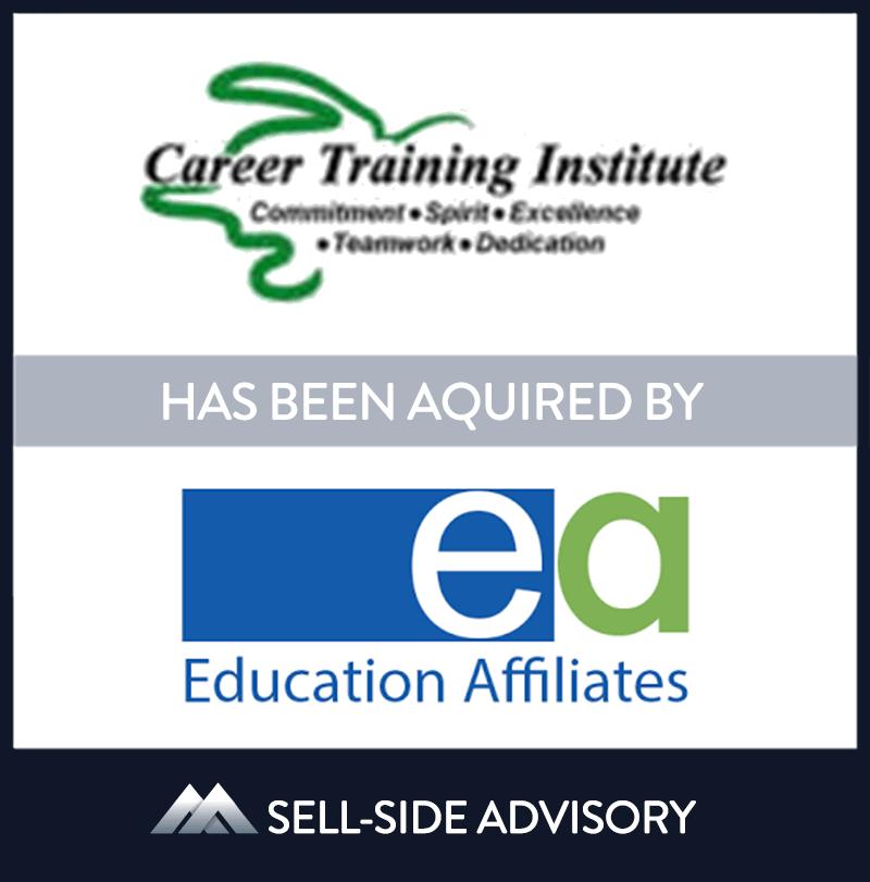 | Career Training Institute, Education Affiliates, 1 Dec 2007, Florida, Education