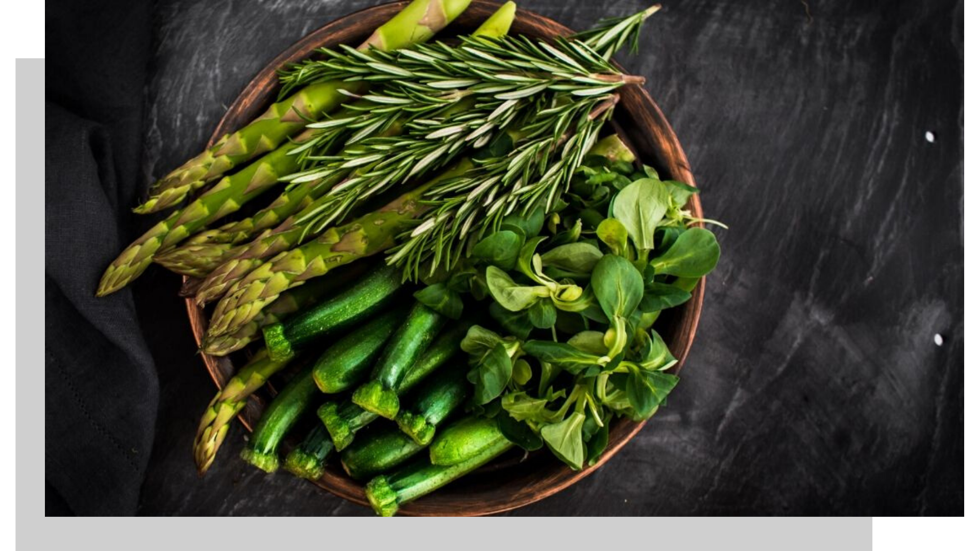 bowl of healthy greens