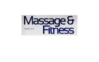 massage and fitness logo