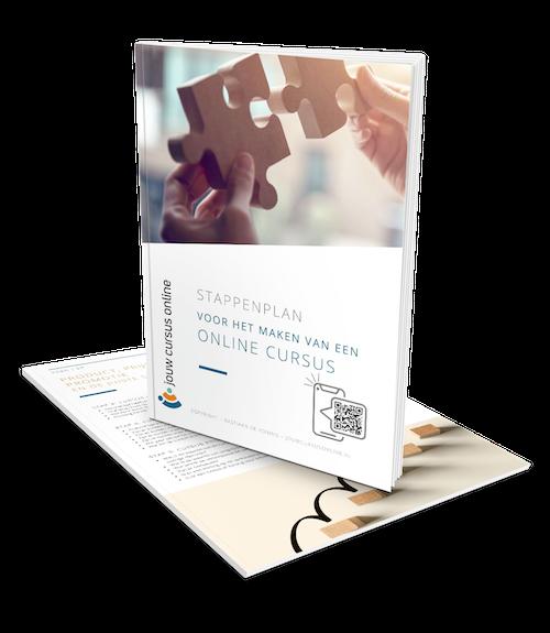 Cover stappenplan online cursus
