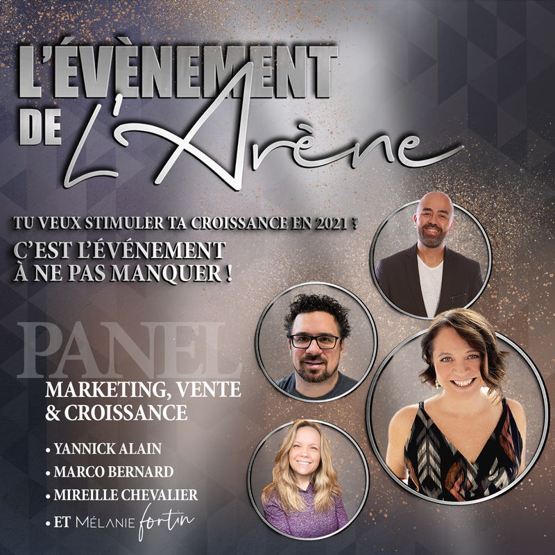 Panel croissance, vente et marketing