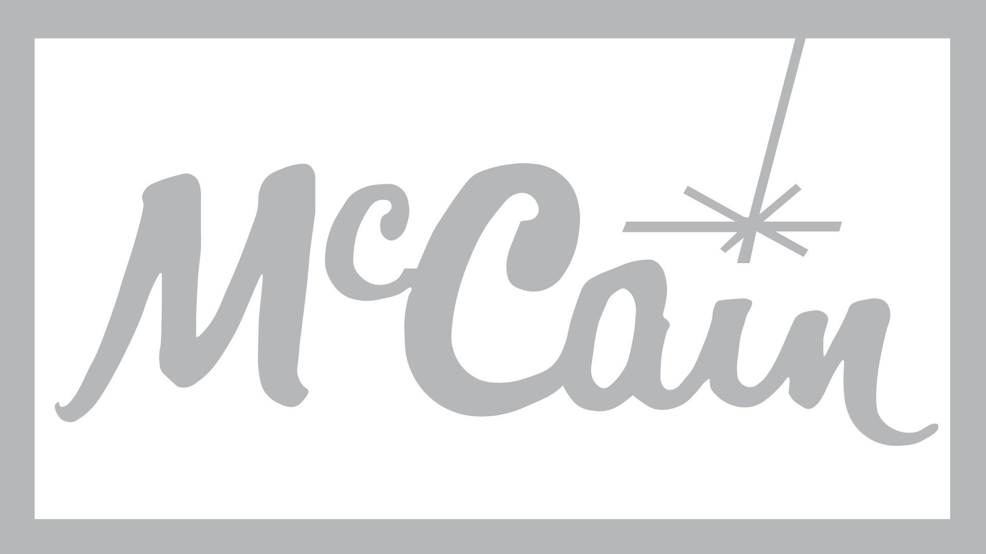 McCain foods logo. McCain foods is one of the many organisations People Builders has as client.